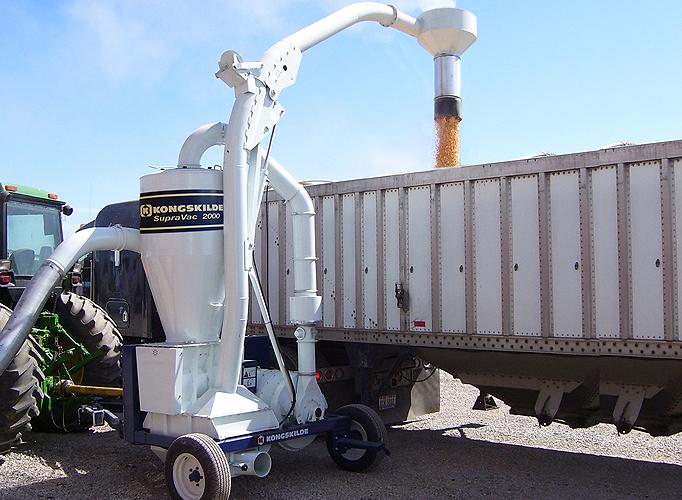 Grain Blower System : Flomech materials handling agricultural applications